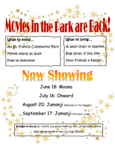 Movies in the Park @ St. Francis Community Park | Saint Francis | Minnesota | United States