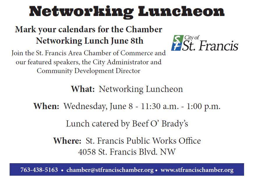 Networking Luncheon Invitation