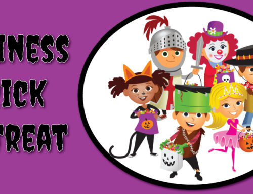 Last Chance to sign up for Business Trick or Treat