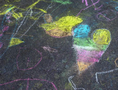 Coloring the Community Chalk Contest