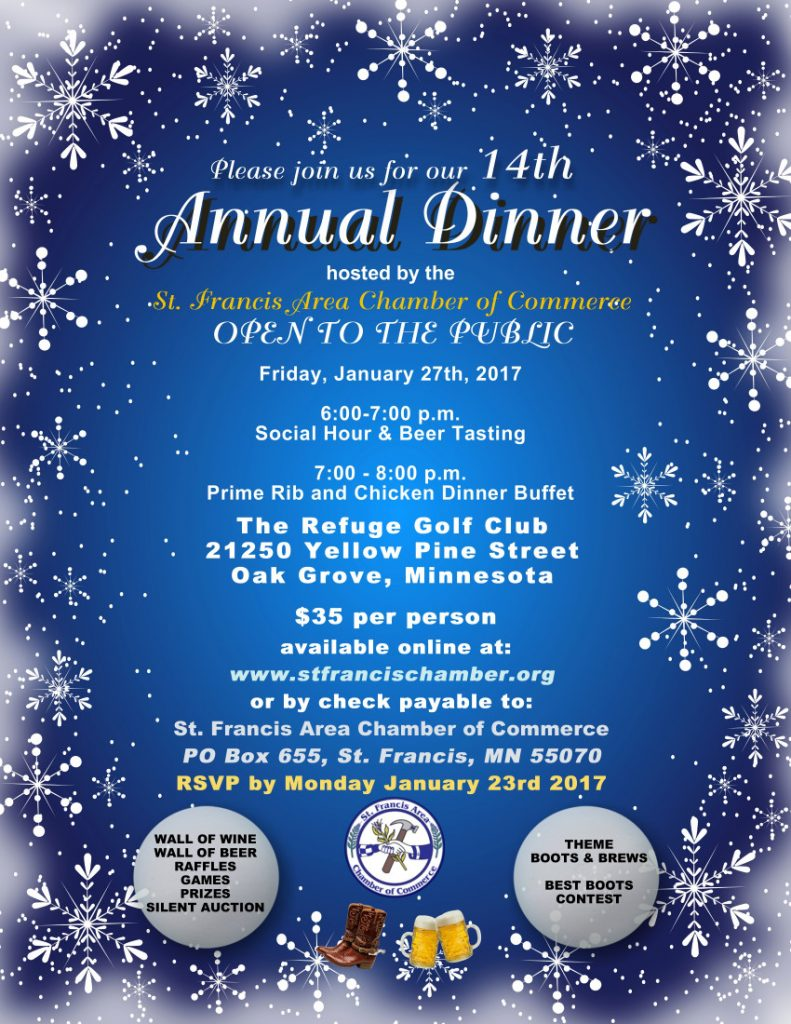 SFACOC Annual Dinner 2017